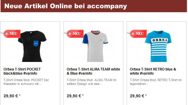 T-Shirt Orbea_Pocket_ALMA Team_Retro